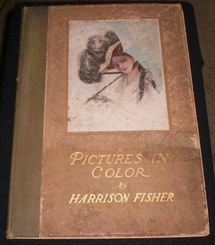 Pictures in Color - Harrison Fisher Book - 14 Color Plates (1910)