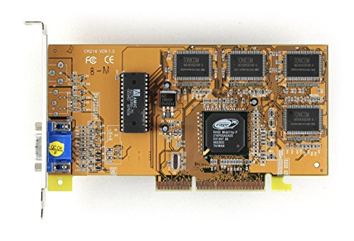 SAPPHIRE MOBILITY 8MB agp2x ati rage pro turbo agp video card ati all in wonder pro agp 8mb