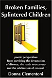 Broken Families, Splintered Children, Donna Clementoni, 0595214274