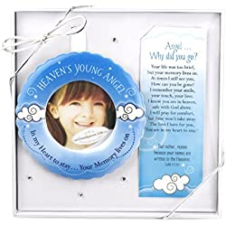 The Grandparent Gift Heaven's Young Angel Sympathy Ornament for Child