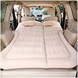 Suicazon Multifunctional Car SUV Minivan Air Mattress Camping Bed, Inflated by Cigarette Lighter with Pump