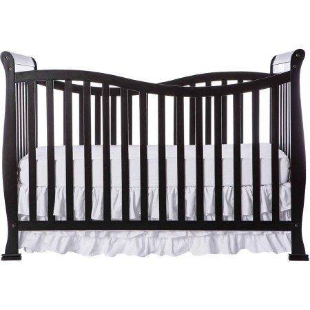 Dream On Me Violet 7-in-1 Convertible Life style Crib with 4-Position Mattress Support System (Black)