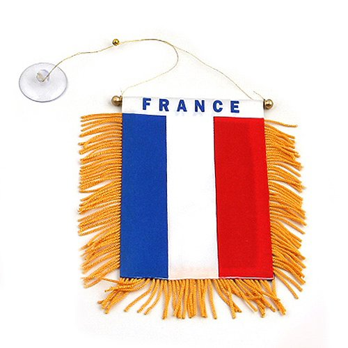 France National Costume Men (World Mini Banner-France)