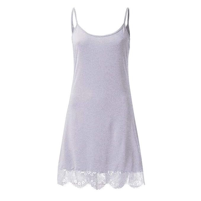 OPAKY Mujer Ropa Interior Lace Camisa de Dormir Salto de Cama Encaje Ropa de Noche de