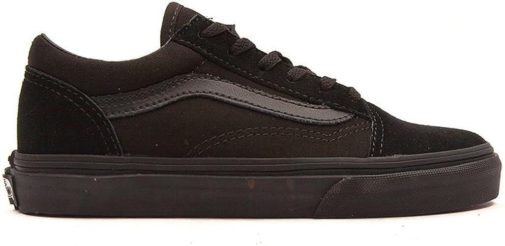 Vans Old Skool Black/Black Kids Shoe