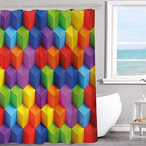 Personalized Pattern Shower Curtain 54