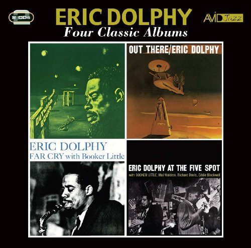 Price comparison product image Four Classic Albums (Outward Bound / Out There / Far Cry / Eric Dolphy At The Five Spot) by Eric Dolphy
