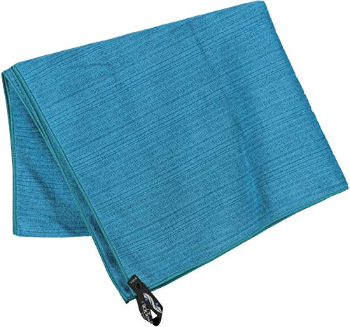 PackTowl Luxe Microfiber Towel, Aquamarine, Beach- 36 x 59-Inch