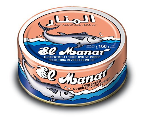 Price comparison product image El Manar Tuna in Olive Oil 162g - 10 Cans per Pack