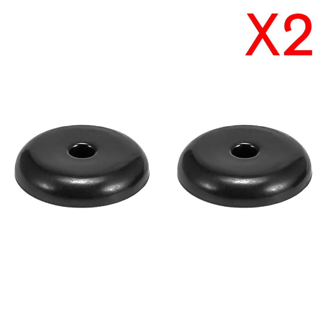 15 Clips universales para cintur/ón de Seguridad de Coche Color Negro QTBWen