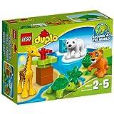 LEGO DUPLO Ville - 10801 - Les Bébés Animaux Du Monde