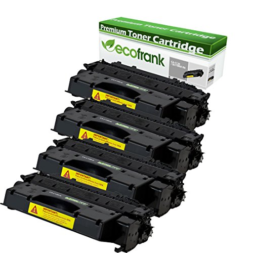 EcoFrank Compatible Toner Cartridge Replacement for Canon C120 2617B001AA (Black, 4-Pack)