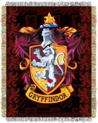 Gryffindor's Crest 48×60 Throw Blanket-Afghan-Tapestry – Harry Potter