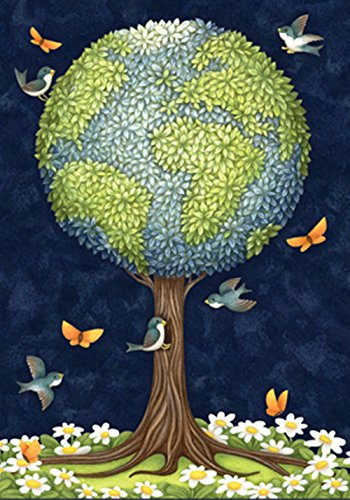 Globe Banner - Toland Home Garden Earth Tree 28