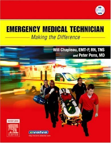 Emergency Medical Technician: Making the Difference Pap/DVD Edition by Chapleau, Will, Pons, Peter T (2006) Paperback -