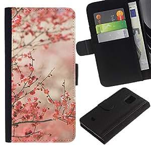 KingStore / Leather Etui en cuir / Samsung Galaxy S5 Mini, SM-G800 / Tokyo
