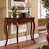 All Things Cedar HR116 Curved Console Table, Cherry