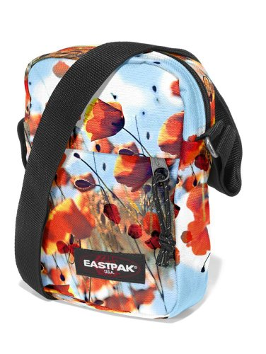 Eastpak The One Bolso Bandolera, Diseño Sunday, Color Gris Poppyfield