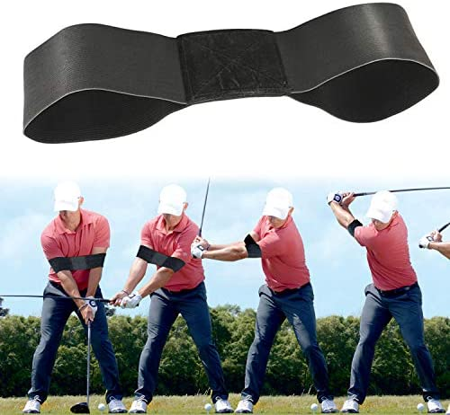 Rmolitty Golf Swing Trainer, Golf Training Aids for Beginner Wrist Hinge Swing Trainer Smooth Swing Correcting Tools