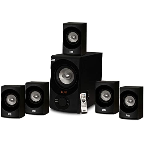 Acoustic Audio AA5171 5 1 Surround Sound Bluetooth Home Entertainment System