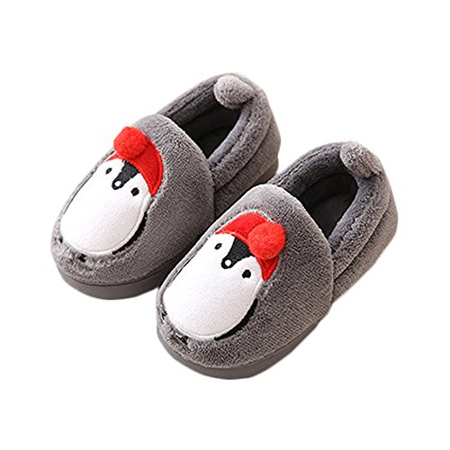 - JadeRich Toddler/Little Kid Cute Penguin Winter Warm Slippers