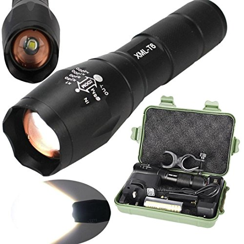 Exclusive Bright 5000LM X800 shadowhawk CREE T6 LED Flashlight,Ninasill Hot Fashion Torch Lamp G700 Light Kit