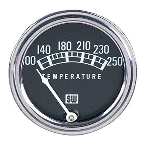 Stewart Warner 82210-72 Std Mech Water Temp Gauge-72 Inch Capillary
