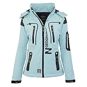 GEOGRAPHICAL NORWAY femmes Softshell fonctions plein pluie veste sport