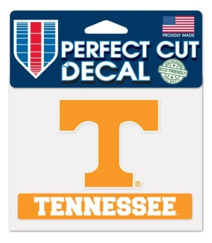 (Wincraft NCAA Official University of Tennessee Volunteers 4''x5'' Decal Tennessee)