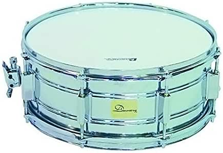 Dimavery SD-355 de tambor con plateado caja: Amazon.es: Instrumentos musicales