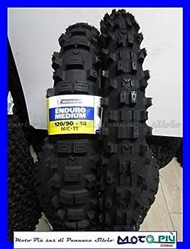 Par gomas Michelin Enduro Medium 90/90 - 21 54R 120/90 - 18 65R Dot 2017: Amazon.es: Coche y moto