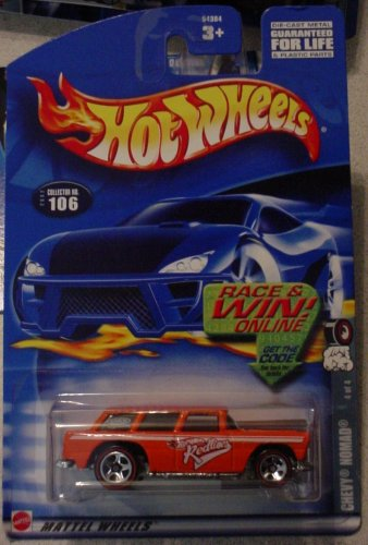 Price comparison product image Hot Wheels Chevy Nomad 4 / 4 Redline 202 106