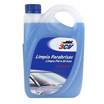 3CV Limpiaparabrisas | lavaparabrisas | Uso Directo 2L: Amazon.es: Coche y moto