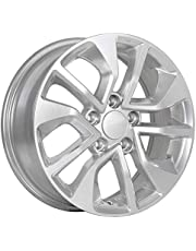 Art Replica 138 ALLOY WHEEL/RIM Silver SIZE 16x6.5 INCH BOLT PATTERN 5x114.3 OFFSET 45 CENTER BORE 64.1 CENTER CAPS INCLUDED, LUG NUTS NOT INCLUDED (RIM PRICED INDIVIDUALLY)