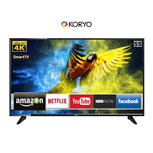Koryo 139.7 cm (55 inches) Ultra HD 4K Smart LED TV KLE55EXVJ91UHD