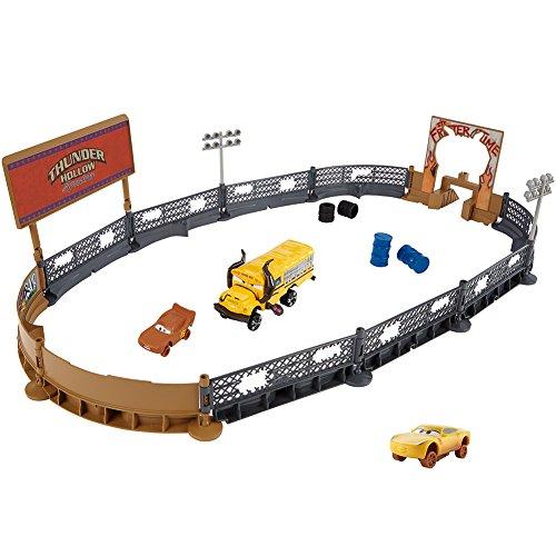 Disney Pixar Cars 3 Crazy 8 Crashers Smash & Crash Derby Playset