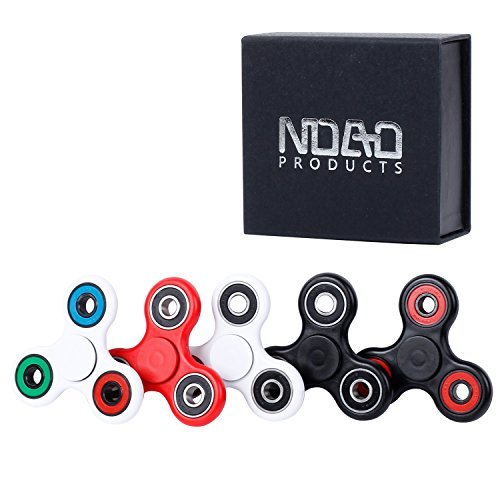 NDAD 1 Pack Hand Spinners Fidget Toy-Ultra Durable High Speed 2-3 Min Spins Si3N4 Hybrid Ceramic Bearing-Perfect for Adults, Kids, Stress, Anxiety, EDC, ADD, ADHD, Fitness-+Gift Box