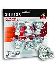 Philips 213462 Halogen 50W GU10 Flood Light Bulb 6 Pack