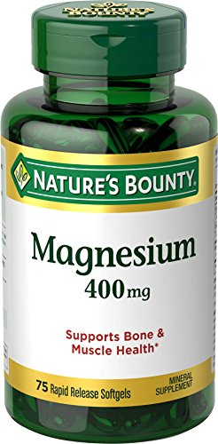 Natures Bounty Magnesium 400 Softgels