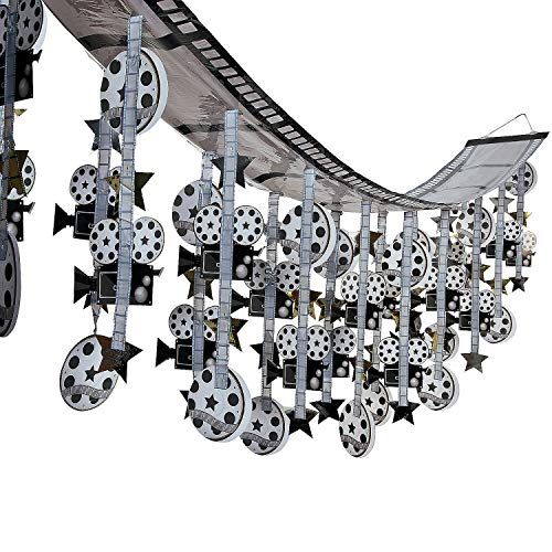 Fun Express - Film Strip Ceiling Decoration for Party - Party Decor - Hanging Decor - Misc Hanging Decor - Party - 1 Piece]()