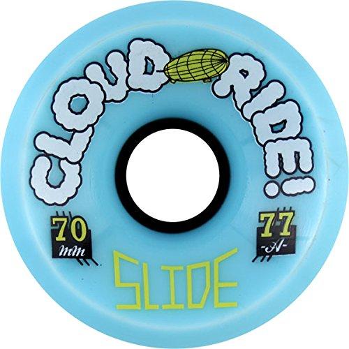 に賛成相談するピットCloud Ride Wheels Slide Powder Skateboard Wheels - 70mm 77a (Set of 4) by Cloud Ride Wheels