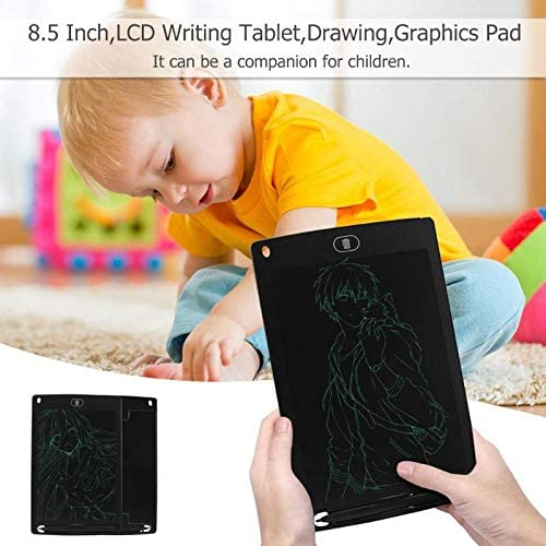 Sala-Deco 8.5 Inch Portable Smart LCD Writing Tablet Electronic Notepad Drawing Graphics Handwriting Pad Board With CR2020 Button Battery