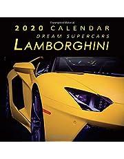 2020 Calendar Dream Supercars Lamborghini: 2020 Monthly Calendar with USA Holidays & Observances, Full Color Photos, Supercars Calendar, Automobile Calendar
