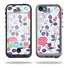 MightySkins Protective Vinyl Skin Decal for LifeProof iPhone 5C Case fre Case wrap cover sticker skins Vintage Floral