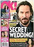 OK! Magazine November 25 2019 Keanu Reeves Sandra Bullock Prince William Duchess Kate Kristen Stewart Robert Pattinson George Clooney