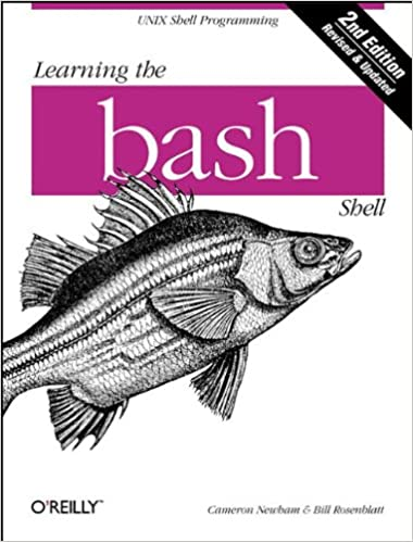 Learning the bash shell 2nd edition cameron newham bill learning the bash shell 2nd edition cameron newham bill rosenblatt 0636920923473 amazon books fandeluxe Image collections