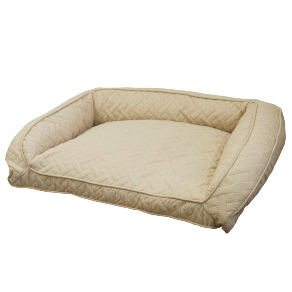 A JBP Max Dog Bed Cat Nest Pet Nest Pet Bed Removable And Washable Four Seasons Large Dog Kennel Sofa Pet Supplies Large 110  79  22Cm,G