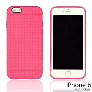OnlineBestDigital - Colorful Hard Back Case for Apple iPhone 6 (4.7 inch)Smartphone - Hot Pink