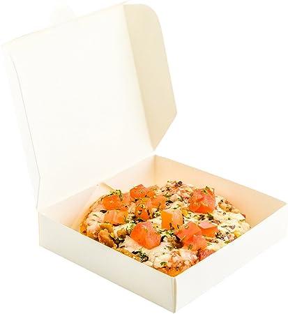 Restaurantware RWA0375W Caja de pizza de papel, blanco: Amazon.es: Hogar