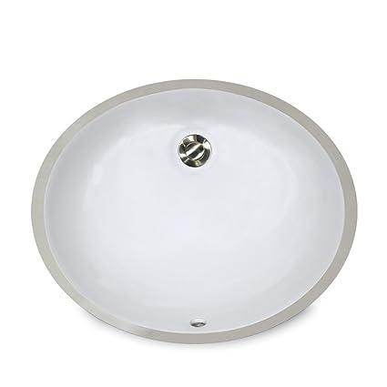 Genial Nantucket Sinks UM 15x12 W 15 Inch By 12 Inch Oval Ceramic